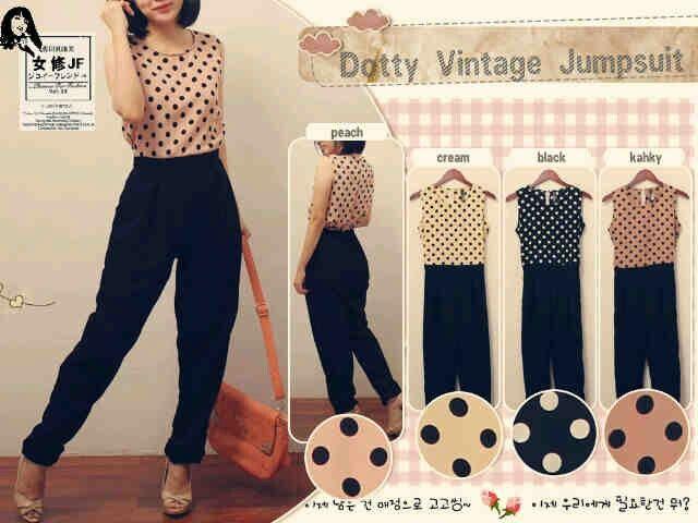 Datty Vintage Jumpsuit