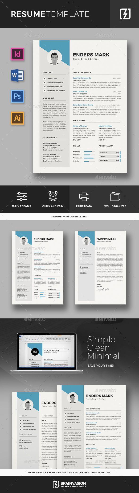 Resume Template 25 best Resume CV