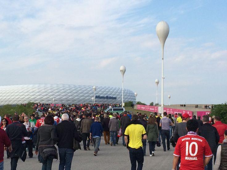 Bayern Munich aginst Dortmund