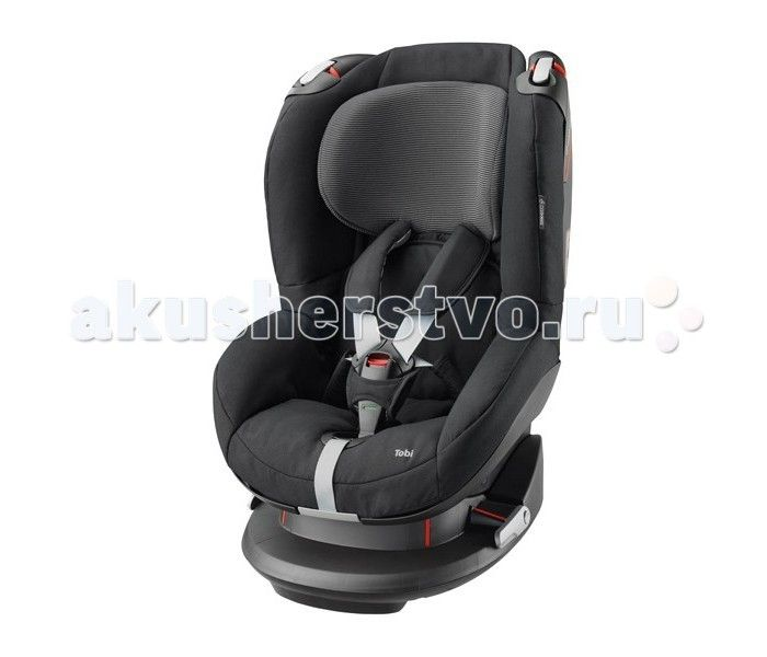 Автокресло Maxi-Cosi Tobi  Maxi-Cosi Tobi - это универсальное детское автомобильное сидение для детей весом 9-18 кг. Его следует применять на сидениях, направленных вперед. Устанавливаться может при помощи системы трехполосного ремня безопасности.   Новаторские легкосъемные ремни; ремни и пряжки больше не мешают  Удобная регулировка подголовника и ремней спереди изделия одной рукой  Система боковой защиты обеспечивает оптимальную защиту от боковых ударов  Особо прочная установка в машине…