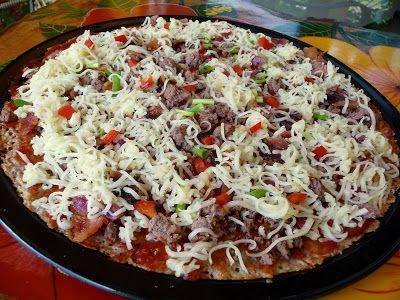 SPLENDID LOW-CARBING          BY JENNIFER ELOFF: Gluten-Free Crispy Pizza Crust (New)