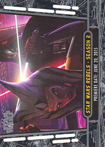 2017 Topps Star Wars 40th Anniversary Trading Card #17 Star Wars Rebels - Season 2 //Price: $0.99 & FREE Shipping //     #starwarsmeme