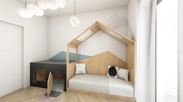 Návrh interiéru bytu v Slnečniciach / Interior of flat in housing complex Slnečnice, by Archilab