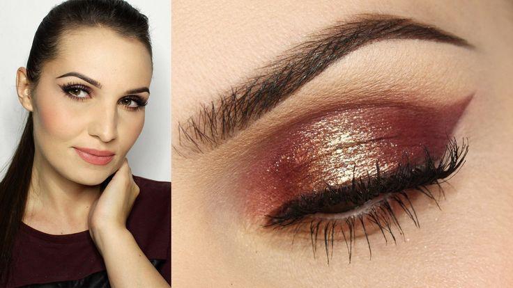 Makijaż na imprezę | Sylwester - Maxineczka