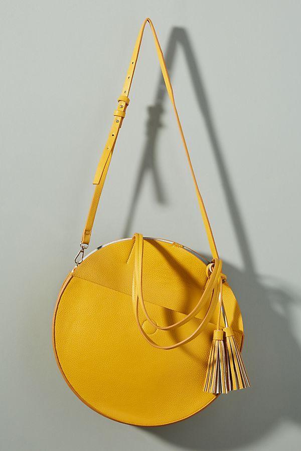 round yellow purse 7cc3f3