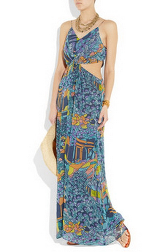 Blue Maxi Dresses For Women