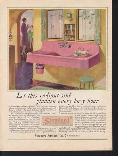 1929 STANDARD PLUMBING HOUSEHOLD APPLIANCE KITCHEN SINK for sale on ebay.