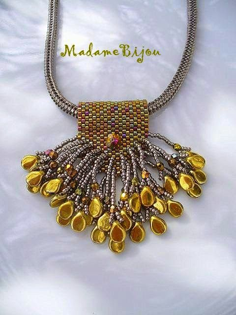 1321 best beaded pendants images on pinterest bead jewellery madame bijou nyaklnc mozeypictures Choice Image