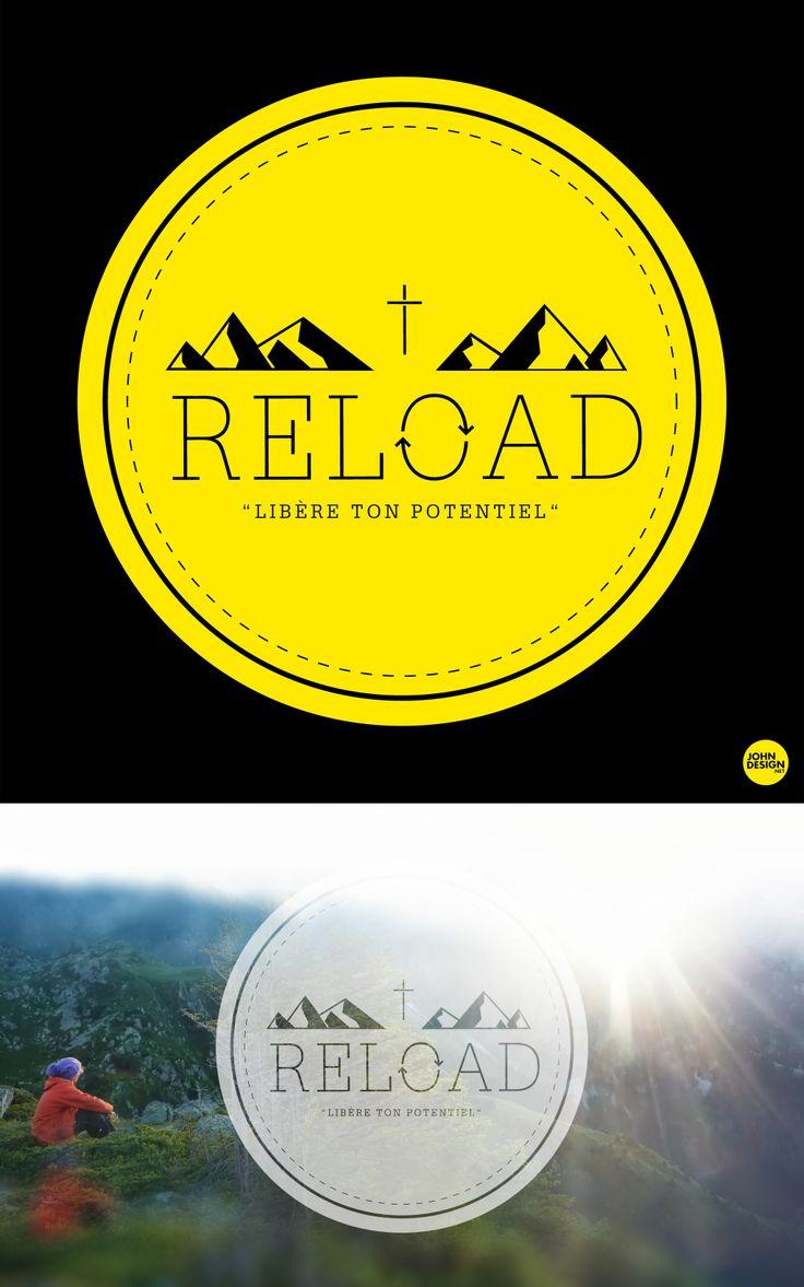 """Logo """"RELOAD"""" > http://mon-eglise.net/iteamsfrance/activity/reload_2014/  by www.johndesign.net"""