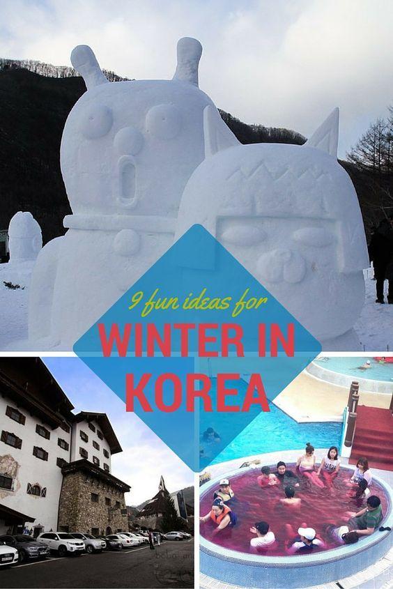 9 Fun Ideas For Your Winter in Korea - Bobo and ChiChi