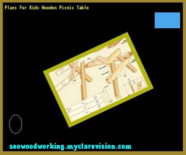 Plans For Kids Wooden Picnic Table 203112 - Woodworking Plans and Projects!