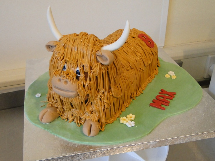 Cake Decorating Classes Scotland : 29 best images about Scottish Highland Cattle Creative ...