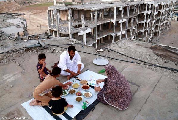 Ftour 2015 à Gaza, Que dieu leur vienne en aide ça brise le cœur ..