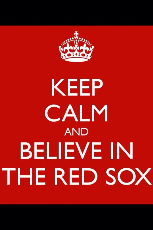 Beloved Red Sox! Headed to the World Series baby!