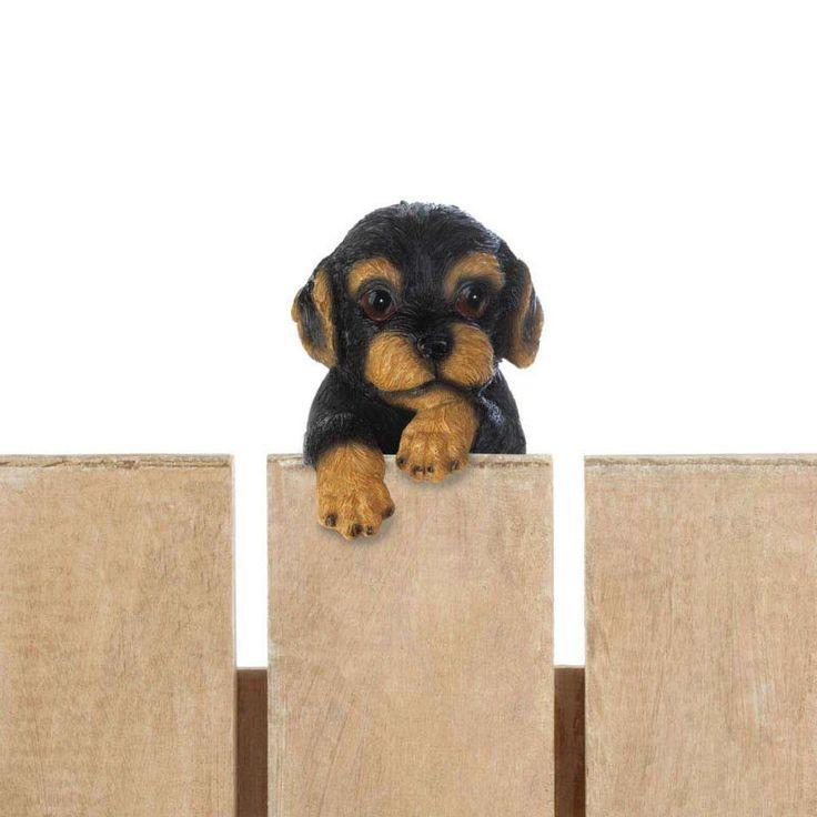 Climbing Dotson Puppy Figurine