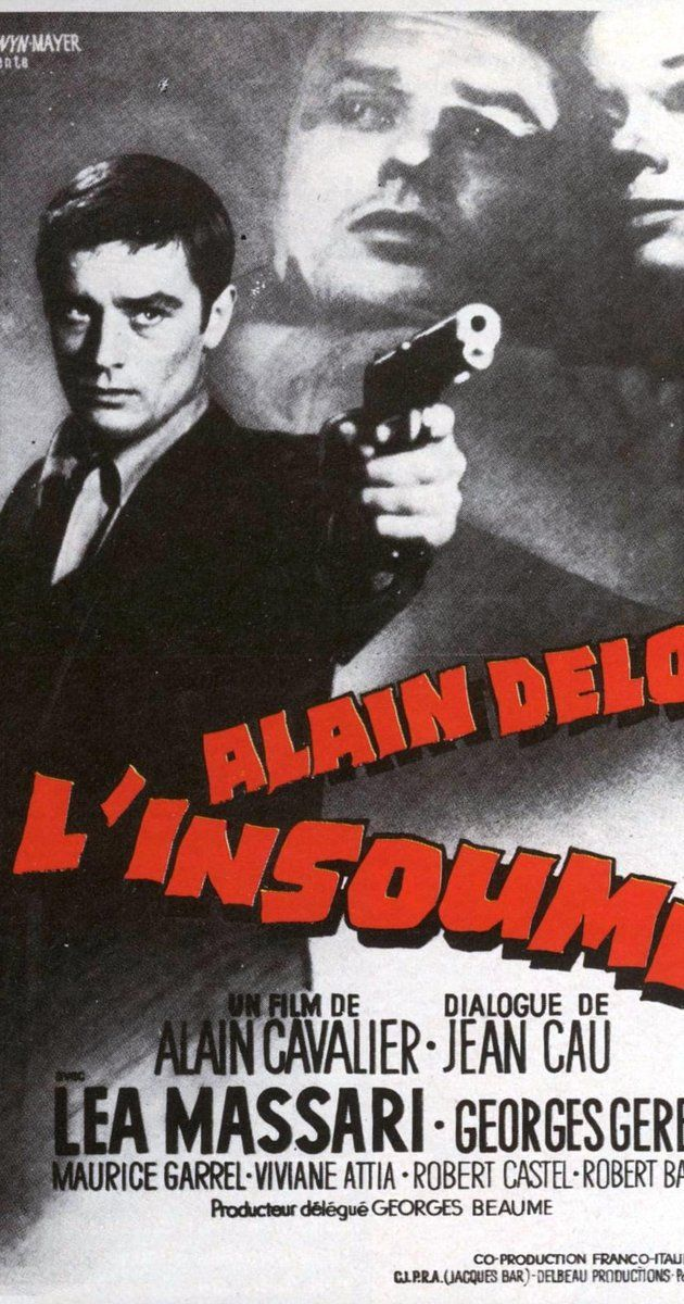 Directed by Alain Cavalier.  With Alain Delon, Lea Massari, Georges Géret, Maurice Garrel. 1961. Luxemburger Thomas Vlassenroot deserted the French Foreign Legion during the Algiers Putsch. His lieutenant, Fraser, initiated the desertion for the two of them, Fraser believing he could do more for the French working for an underground organization. However, Thomas readily admits that he no longer has any political motivations or affiliations, and thus is hiding out from the authorities ...
