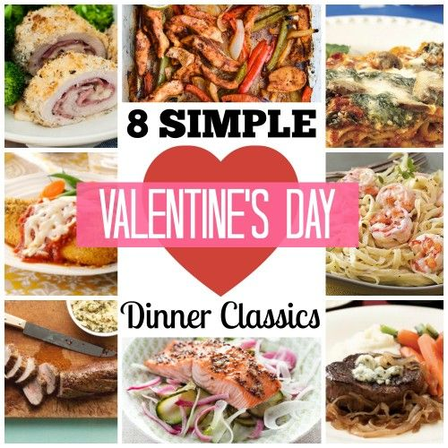 Take the hassle out of your valentine 39 s day by spending a for Simple valentines day dinner