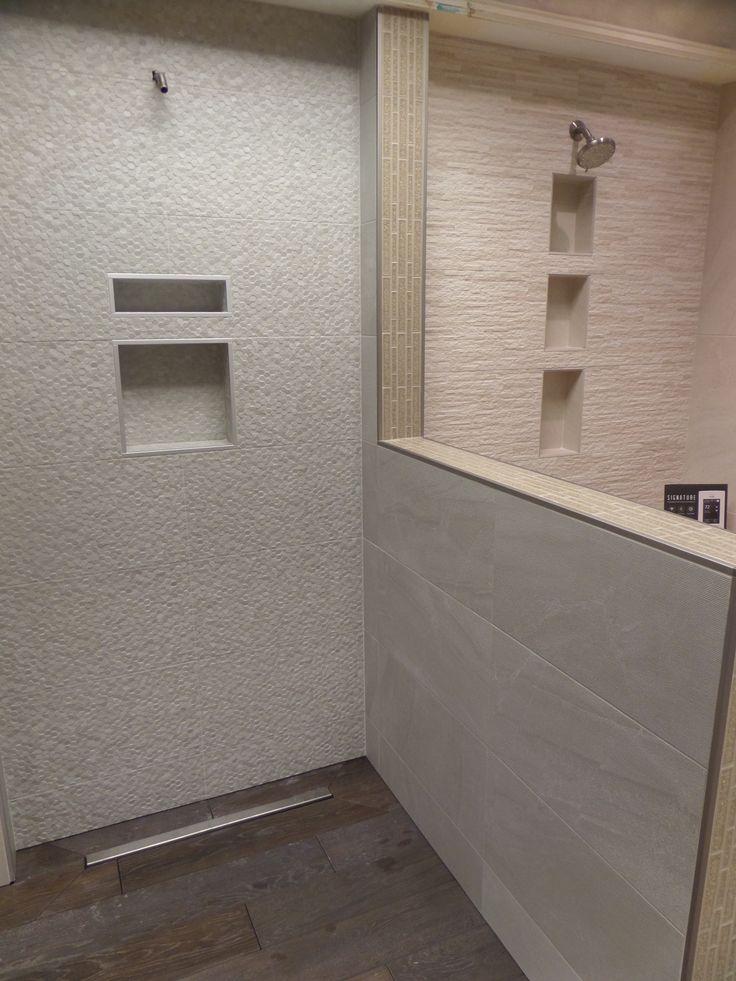 Geostone blanco 30x 60 porcelaine tile. Use smooth tile on