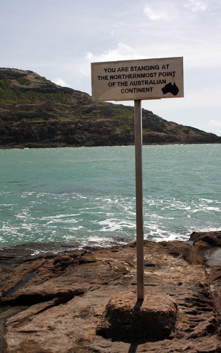 Cape York Peninsula - located at the northern tip of Australia. The sign says it all