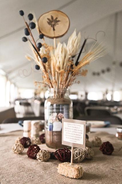 Best ideas about western wedding centerpieces on
