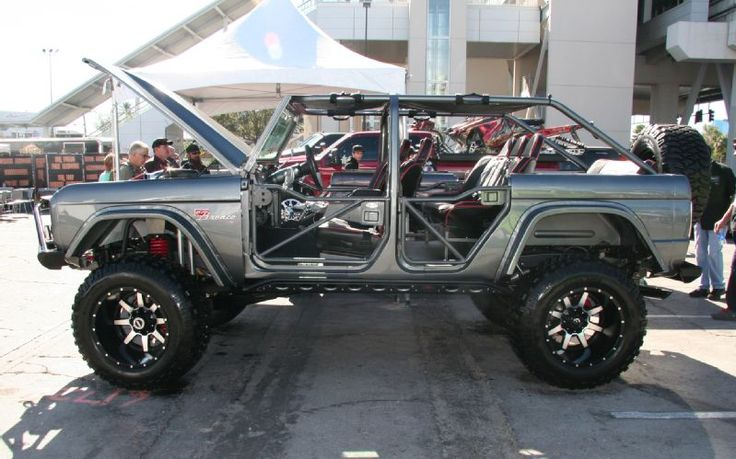 Buildabronco 4 Door Ford Bronco Side Photo 39