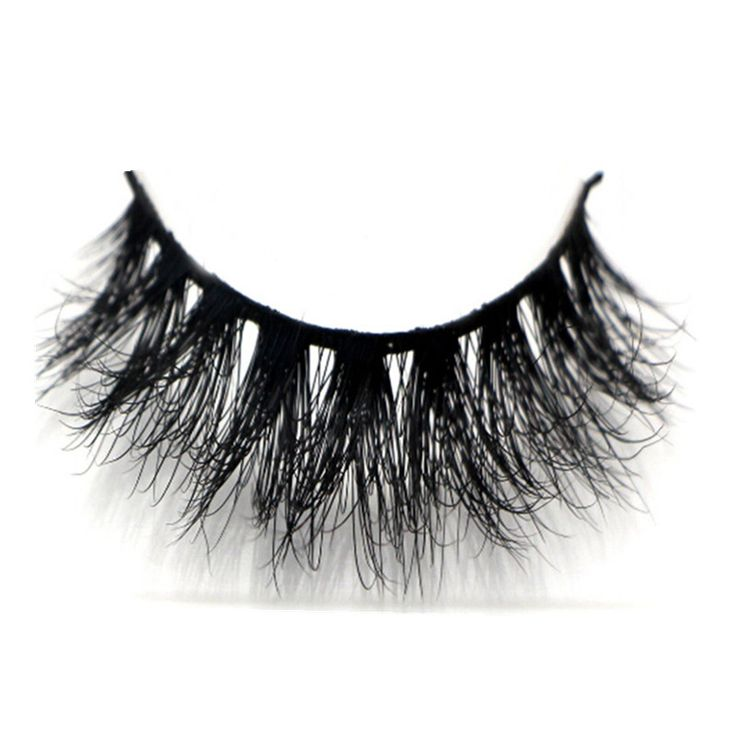 1 pair makeup 3D mink eyelash 100% real mink fur Handmade crossing lashes extension individual fase eyelashes thick lash