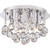 Found it at Wayfair - Bordeaux 4 Light Flush Mount
