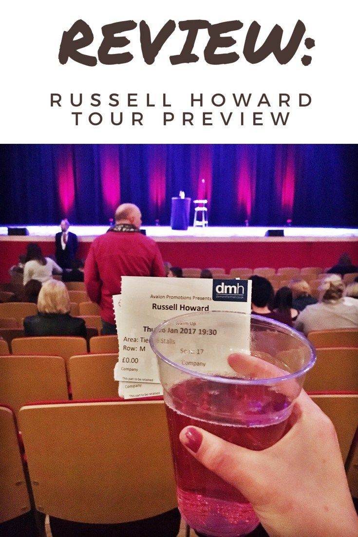 Review: Russell Howard 'Round The World' Tour Preview at De Montfort Hall, Leicester