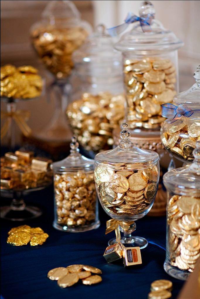 Machen Sie Gold mit einem Schokoriegel der alle zufriedenstellt! Foto von Leslie