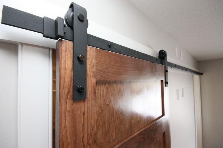 Barn door, hardware, master bedroom