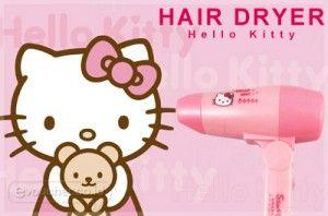 Dapatkan Rambut Bergelombang Indah Ketika Mengeringkanya Dengan Hair Dryer Hello Kitty Ini Only Rp. 65.000,- - www.evoucher.co.id #Promo #Diskon #Jual  Klik > http://evoucher.co.id/deal/Hair-Dryer-Hello-Kitty  Keringkan rambutmu agar senatiasa terlihat halus, rapih & lebih bervolume menggunakan Hair Dryer Hello Kitty ini..  Pengiriman akan dilakukan mulai tanggal 2014-04-10