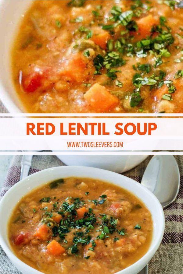 Red Lentil Soup Instant Pot Stove Top Recipe Best Soup Recipes Paleo Soup Recipe Pressure Cooker Recipes