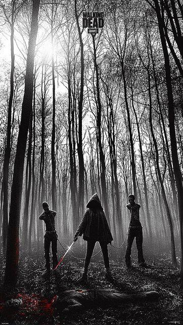 Walking Dead Print by walt74, via Flickr