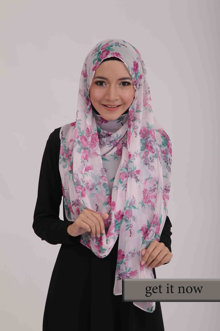 Pasmina Motif bunga k486 (koleksi Baby Ashya) Bahan: Chiffon  #pasmina #pasminamotif #pasminamotifbunga #scarf