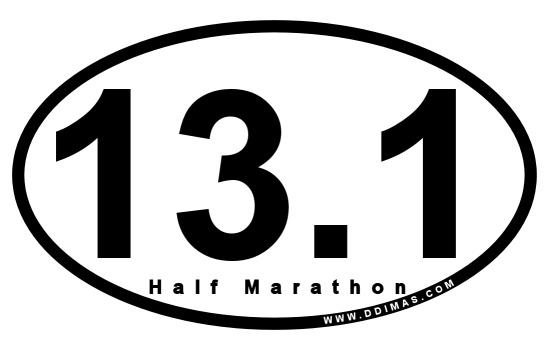 Half marathon...