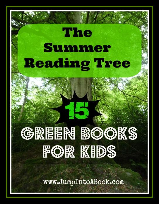 15 Green Books for Kids from Jump Into a Book.