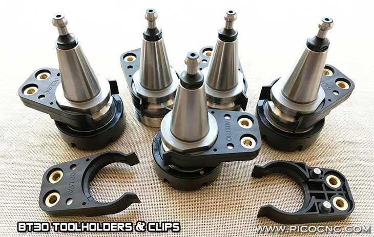 BT30 cnc tools plastic clips