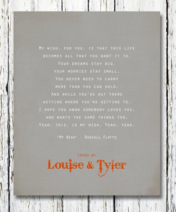 Lyric i want this more than life lyrics : 44 best Bless The Broken Road images on Pinterest   Lyrics, Music ...