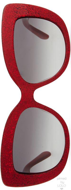 kate spade new york ursula glitter cat-eye sunglasses | LOLO❤︎