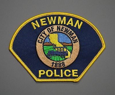 Newman California Police Patch ++ Short Lived Stanislaus County CA