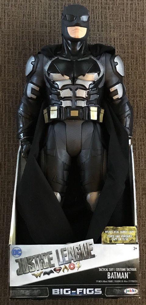 BATMAN Tactical Suit Jakks Big Figs 19 Inch Figure DC Justice League NEW!  | eBay