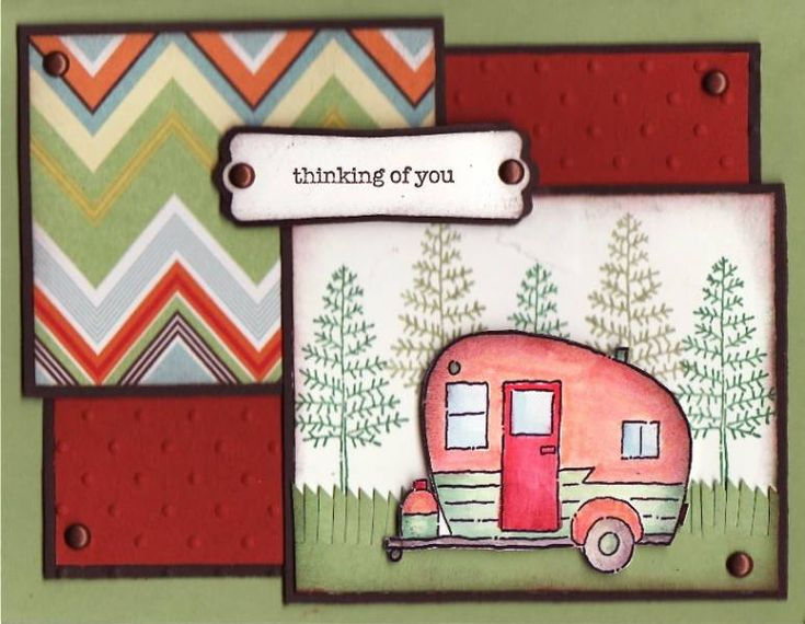 Retro Camper Fun! by ponygirl40 - Cards and Paper Crafts at Splitcoaststampers