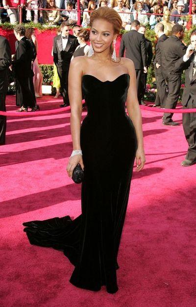 Inspired by Beyoncé Black Mermaid Celebrity Dresses Sweetheart Sleeveless  Velvet Prom Dresses Evening Formal Gowns e0d38a93c585