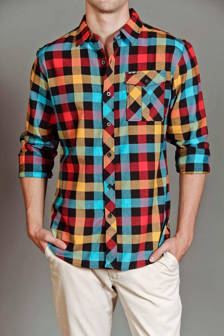 Zoo York Plaid Flannel Button Up Shirt