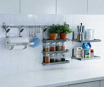 Delightful Teeny Kitchen Means Ideas For Storage Off The Counter.