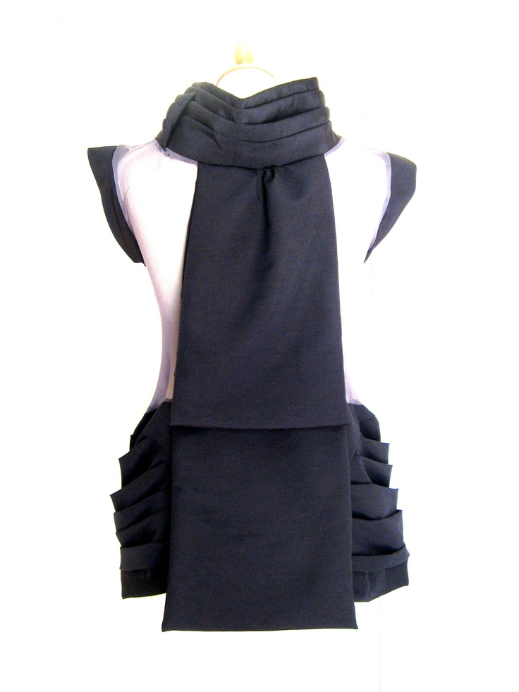 short black see through dress (c)