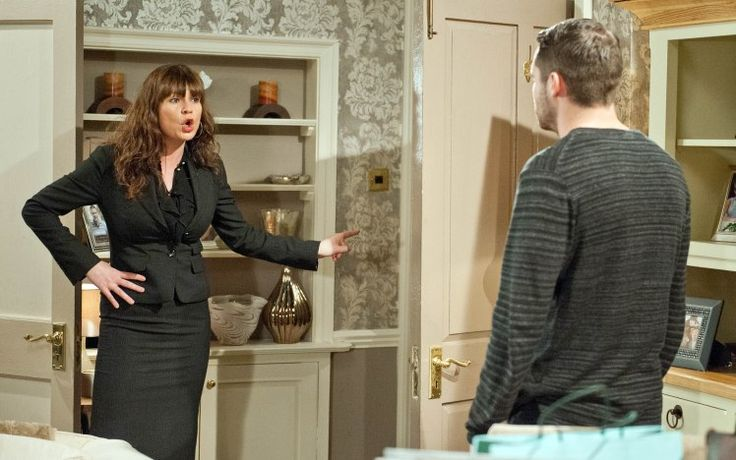 Chas Dingle (Lucy Pargeter) & Aaron Livesy (Danny Miller) (February 2016)
