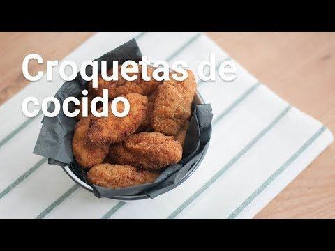 Cómo hacer croquetas de cocido - YouTube