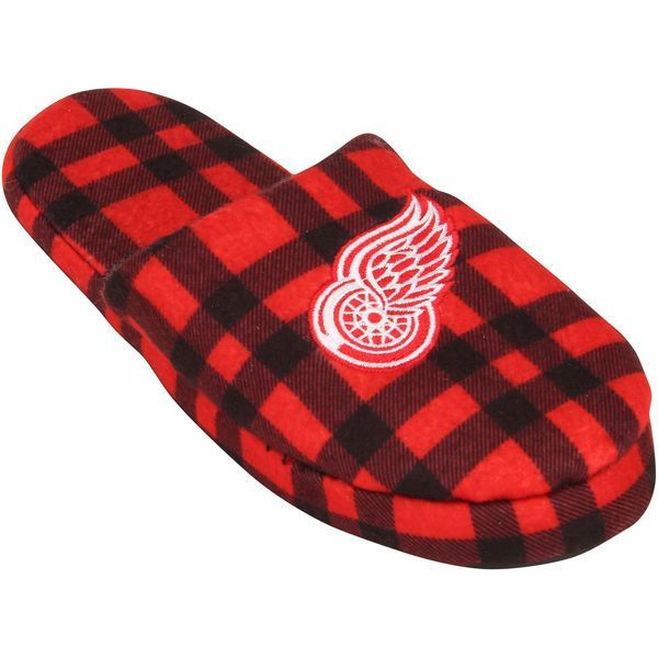 Detroit Red Wings Flannel Slide Slippers - $20.99