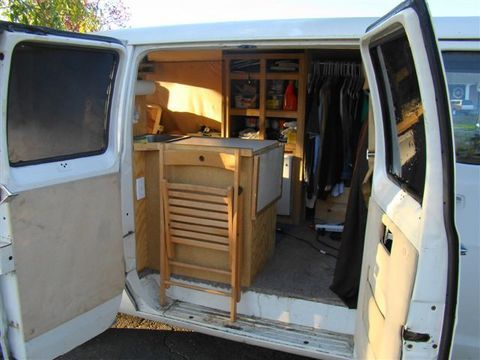 Cheap RV Living Steves Van Conversion